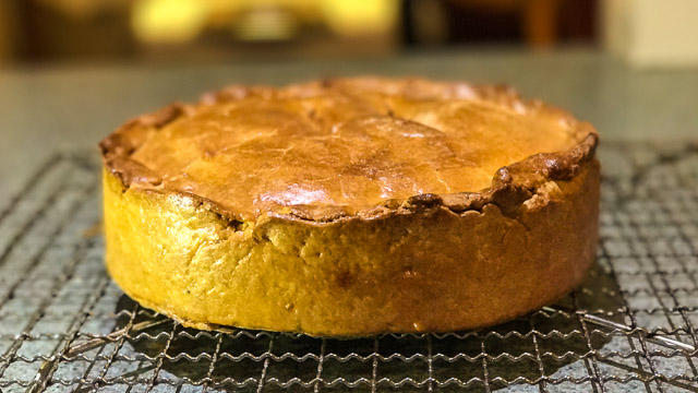 Pork, Apple and Current Pie